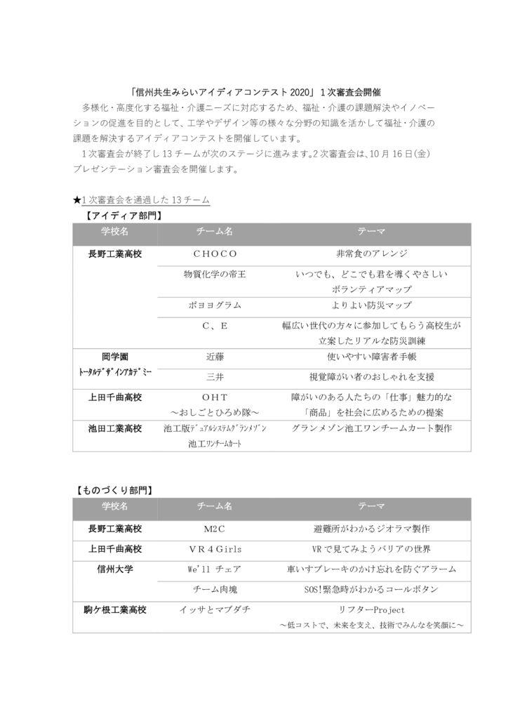一次結果HP_アイディアコンテスト2020のサムネイル